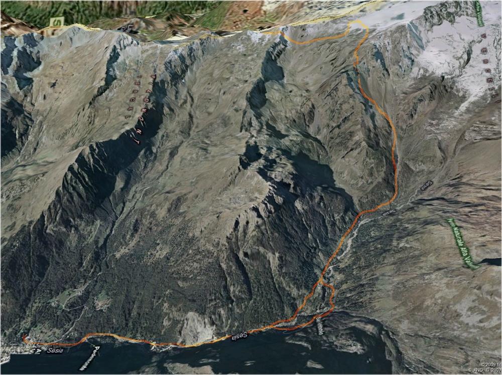 Mappa Colle della Malfatta