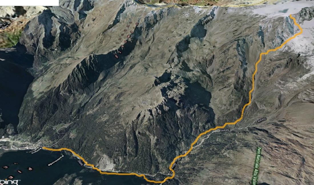 Mappa punta Vittoria